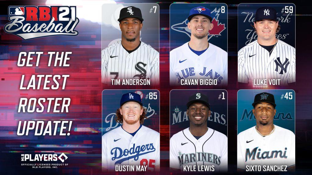 R.B.I. Baseball 21 roster update