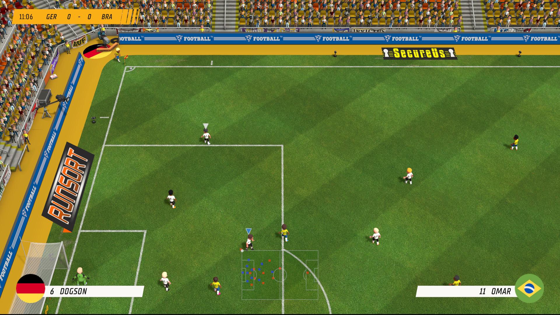 Super Soccer Blast America vs Europe - 6