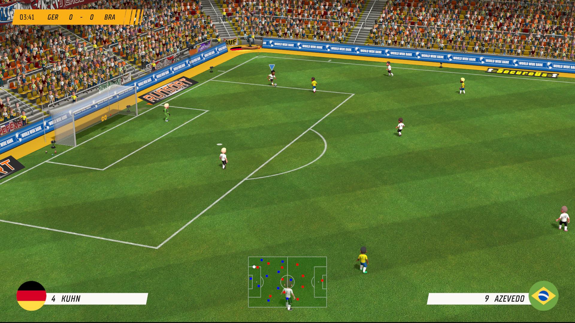 Super Soccer Blast America vs Europe - 8
