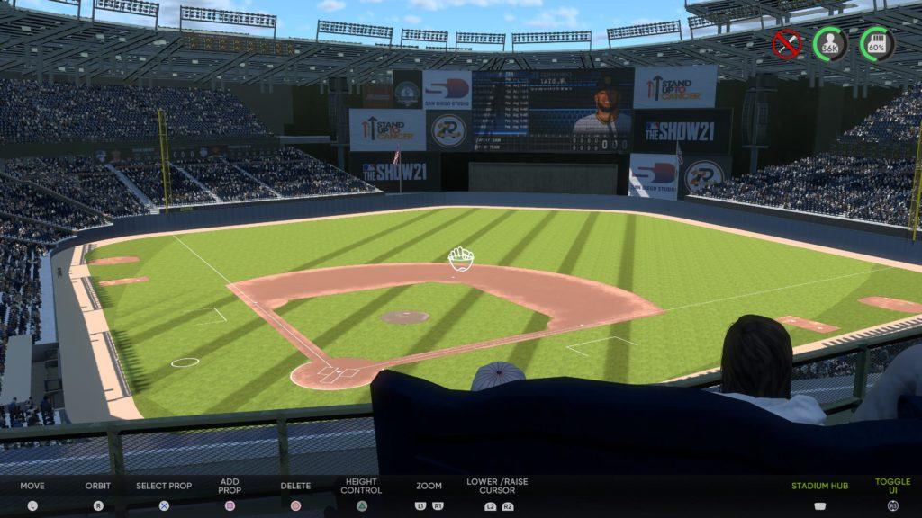 MLB The Show 21 Olympic Stadium