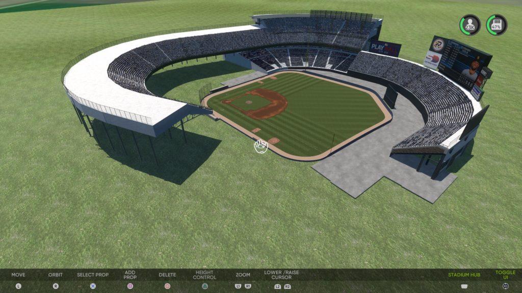 MLB The Show 21 cleveland municipal stadium