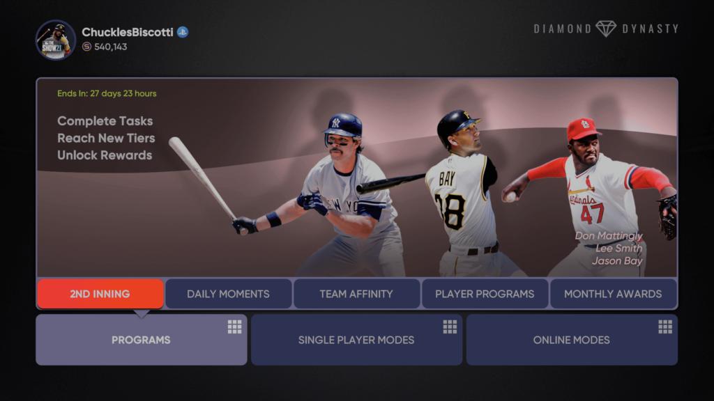 MLB The Show 21 2nd Inning Program