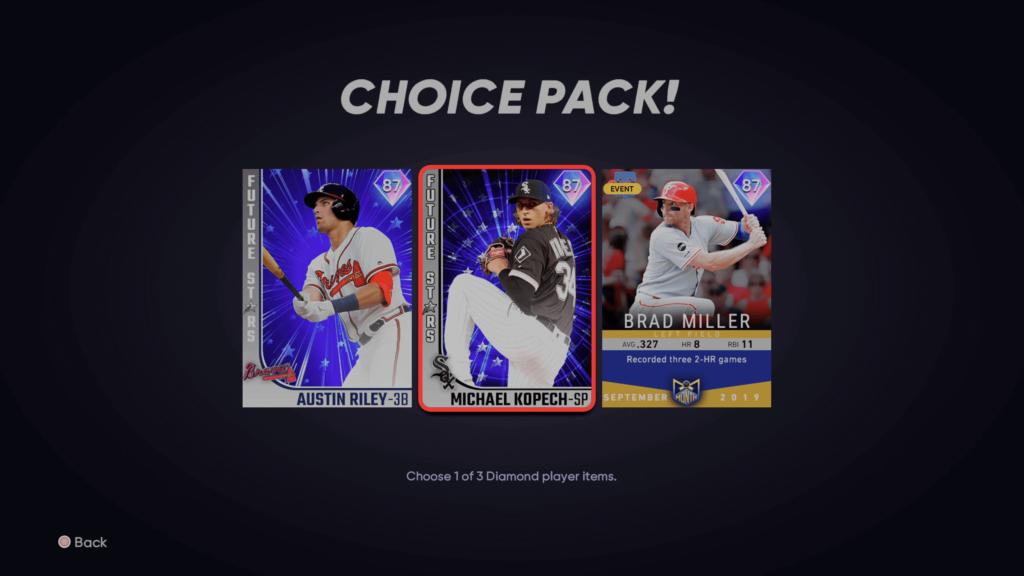 2nd Inning Program classics choice pack