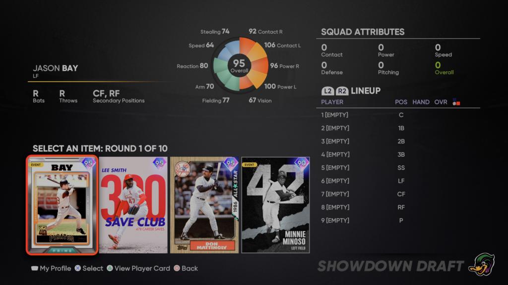 MLB The Show 21 2nd Inning Showdown
