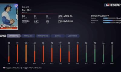 All-Star Bruce Sutter MLB The Show 21