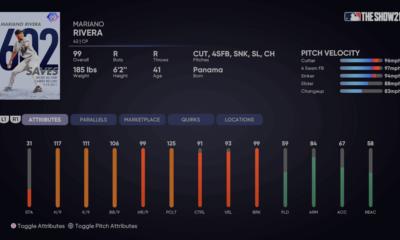 Milestone Mariano Rivera MLB The Show 21