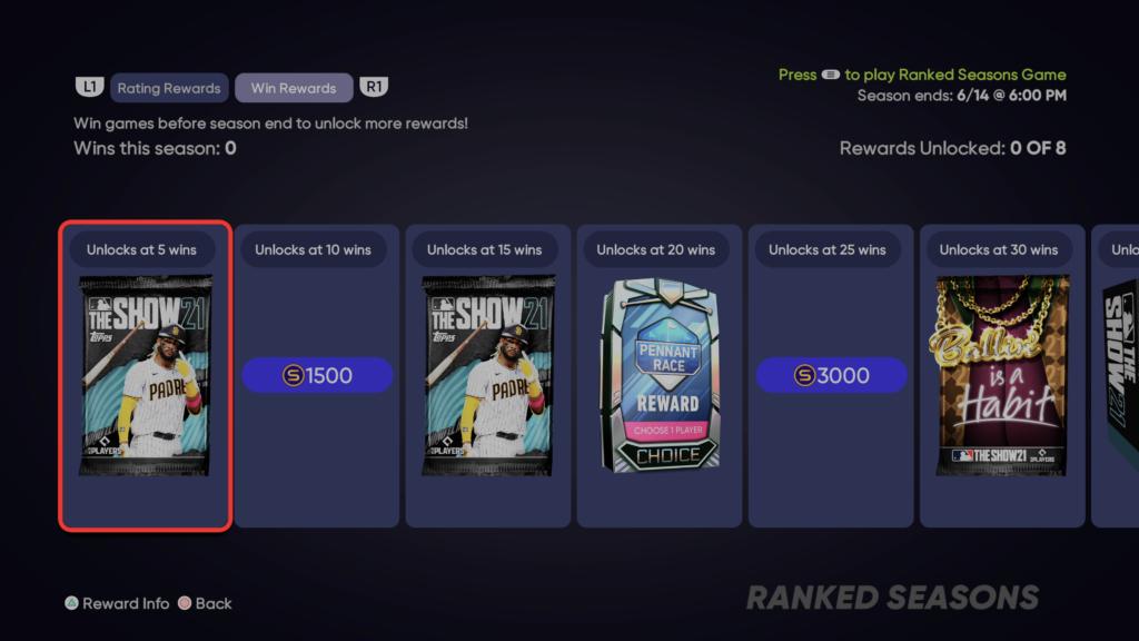 ranked seasons 2 rewards