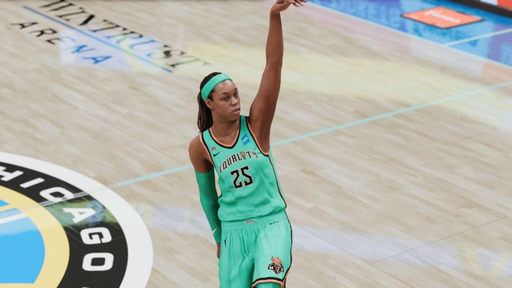 nba 2k21 WNBA 2021