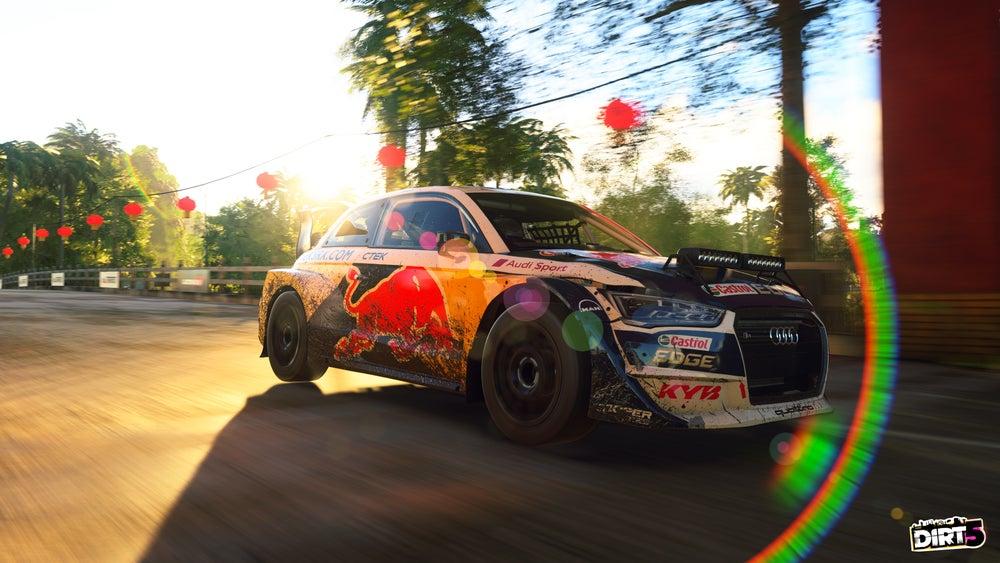 dirt 5 Red Bull revolution