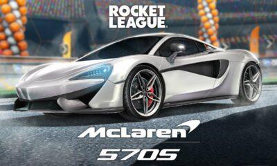 rocket league mclaren 570s