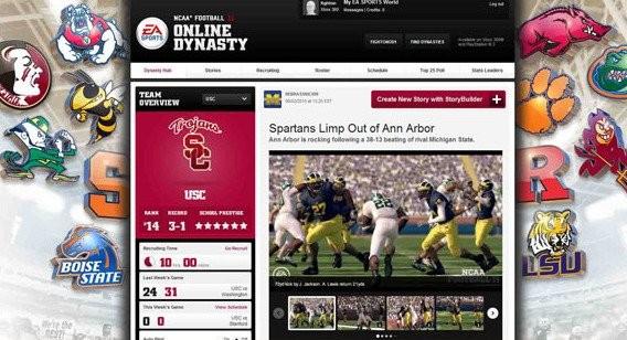 NCAA Football online dynasty