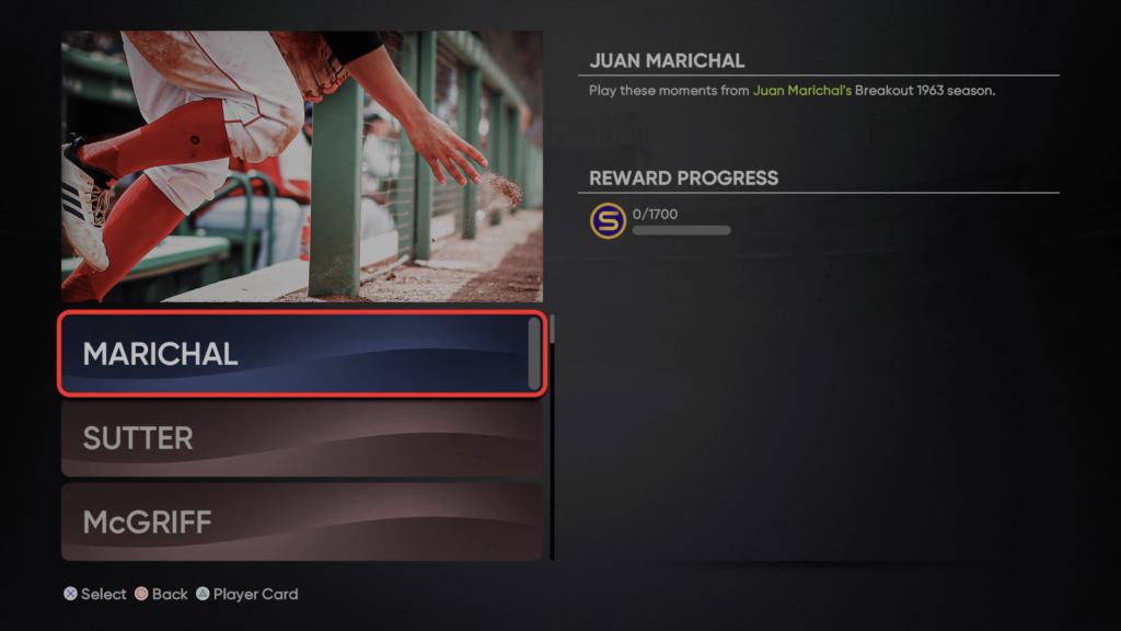 Breakout Juan Marichal Moments