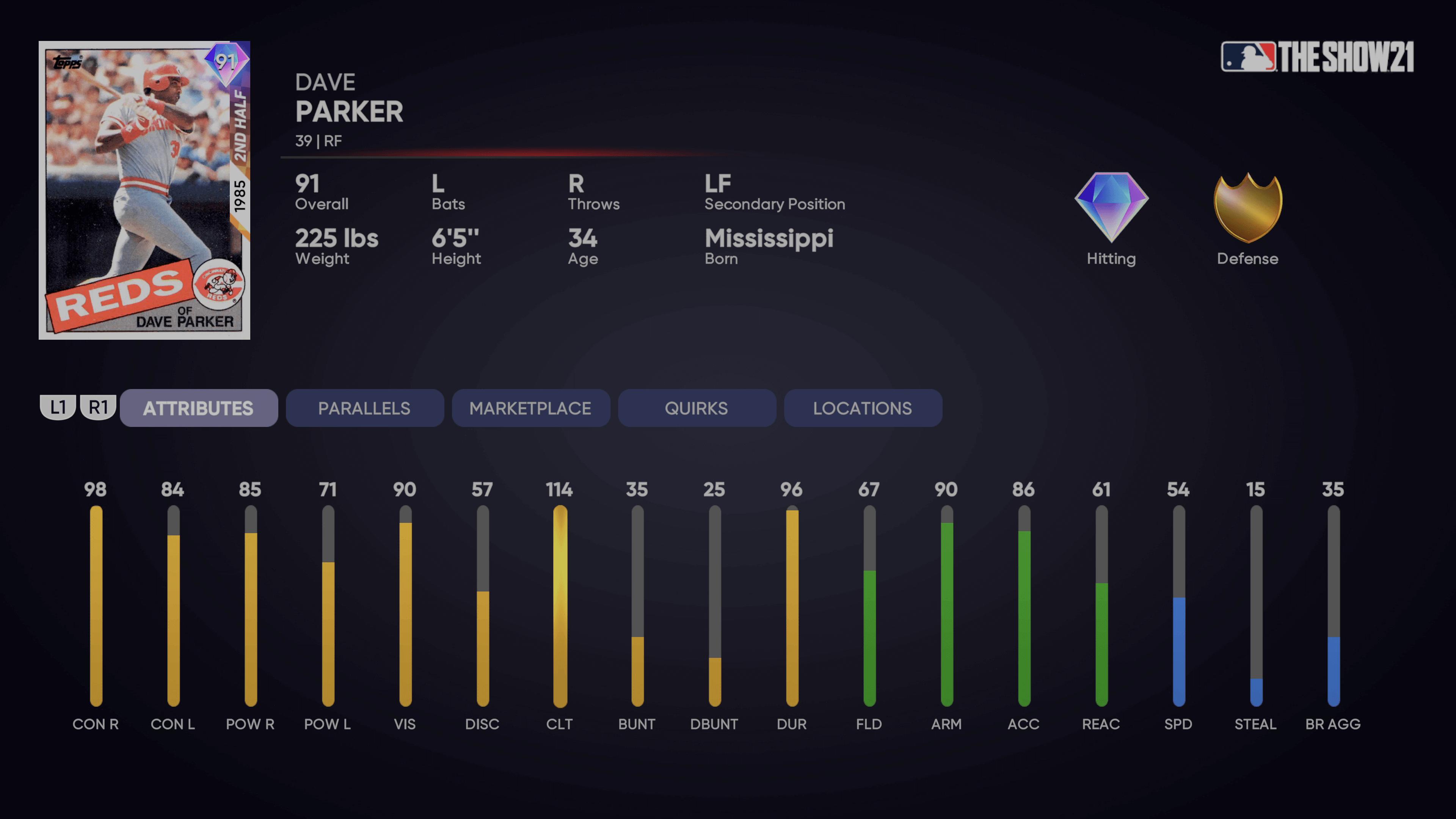 MLB The Show 21 - Dave Parker Player Program_2021-06-18_15-20-23