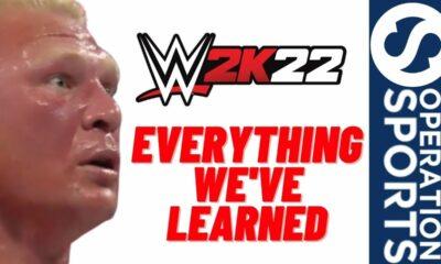 WWE 2K22 news Youtube Thumbnail