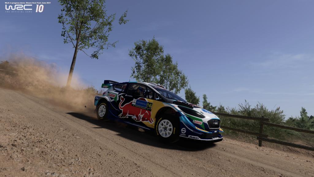 WRC 10 hands-on