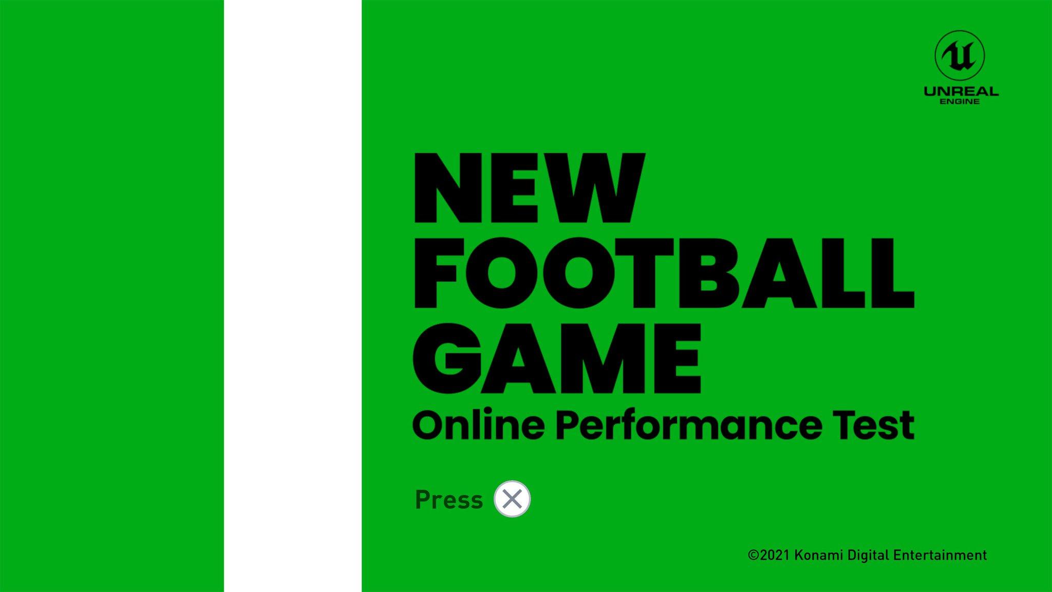 konami new football game