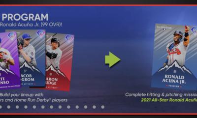 Ronald Acuna Jr. 2021 All-Star Player Program