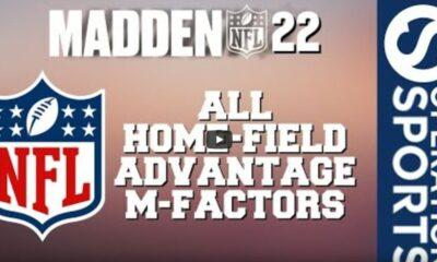 Madden 22 home-field advantage