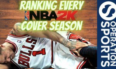 Ranking NBA 2K Cover Athletes