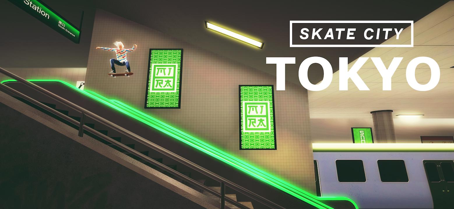 Skate City Tokyo -1