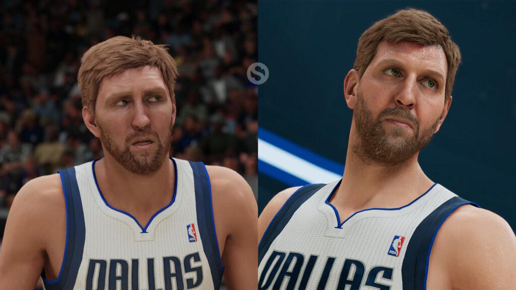 NBA 2K22 dirk