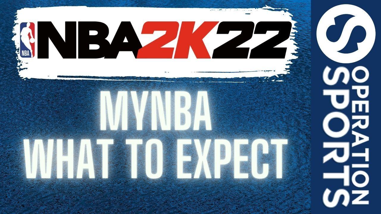 NBA 2K22 MyNBA mode