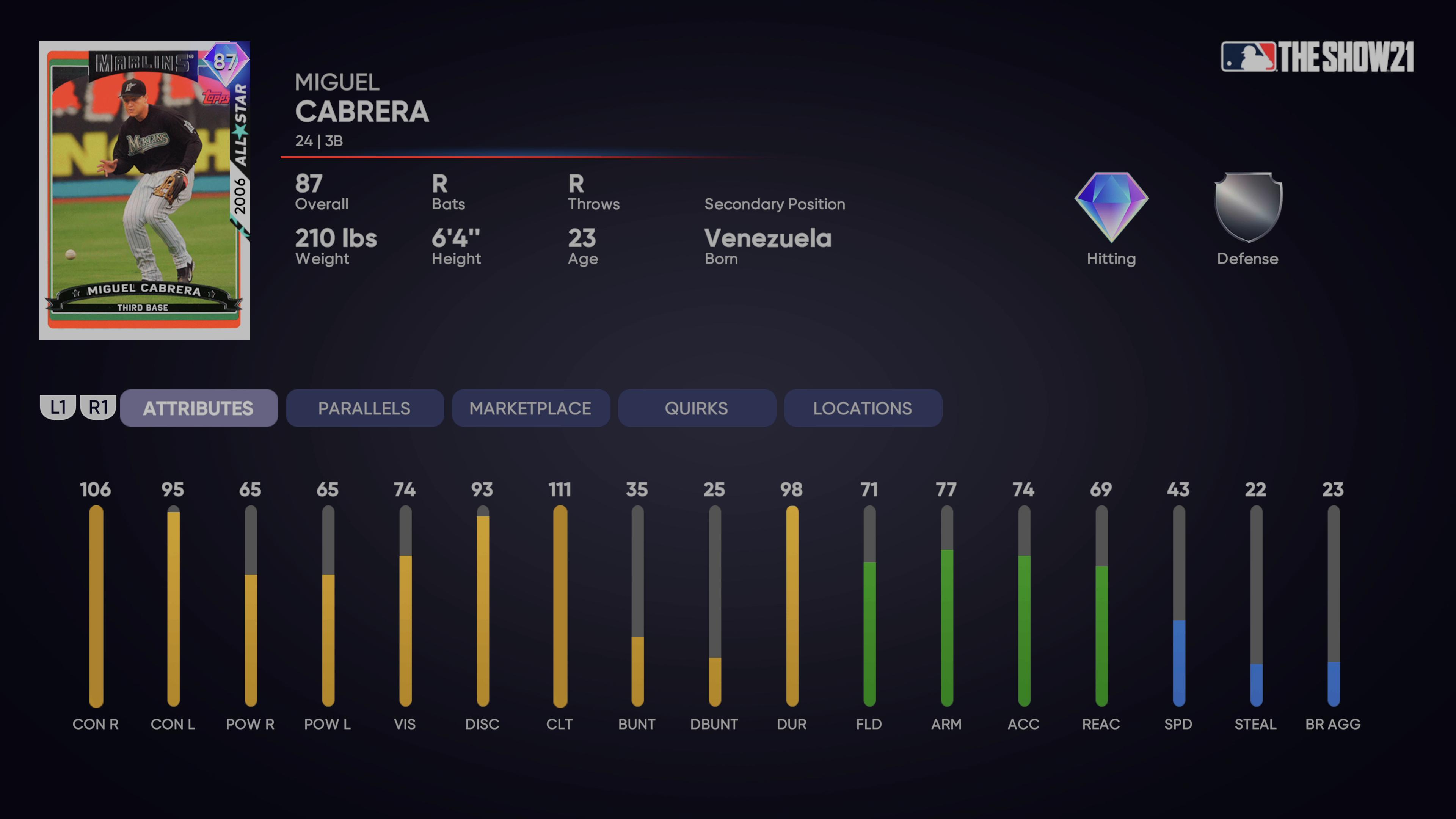 MLB The Show 21 - Milestone Miguel Cabrera_2021-08-23_15-32-29