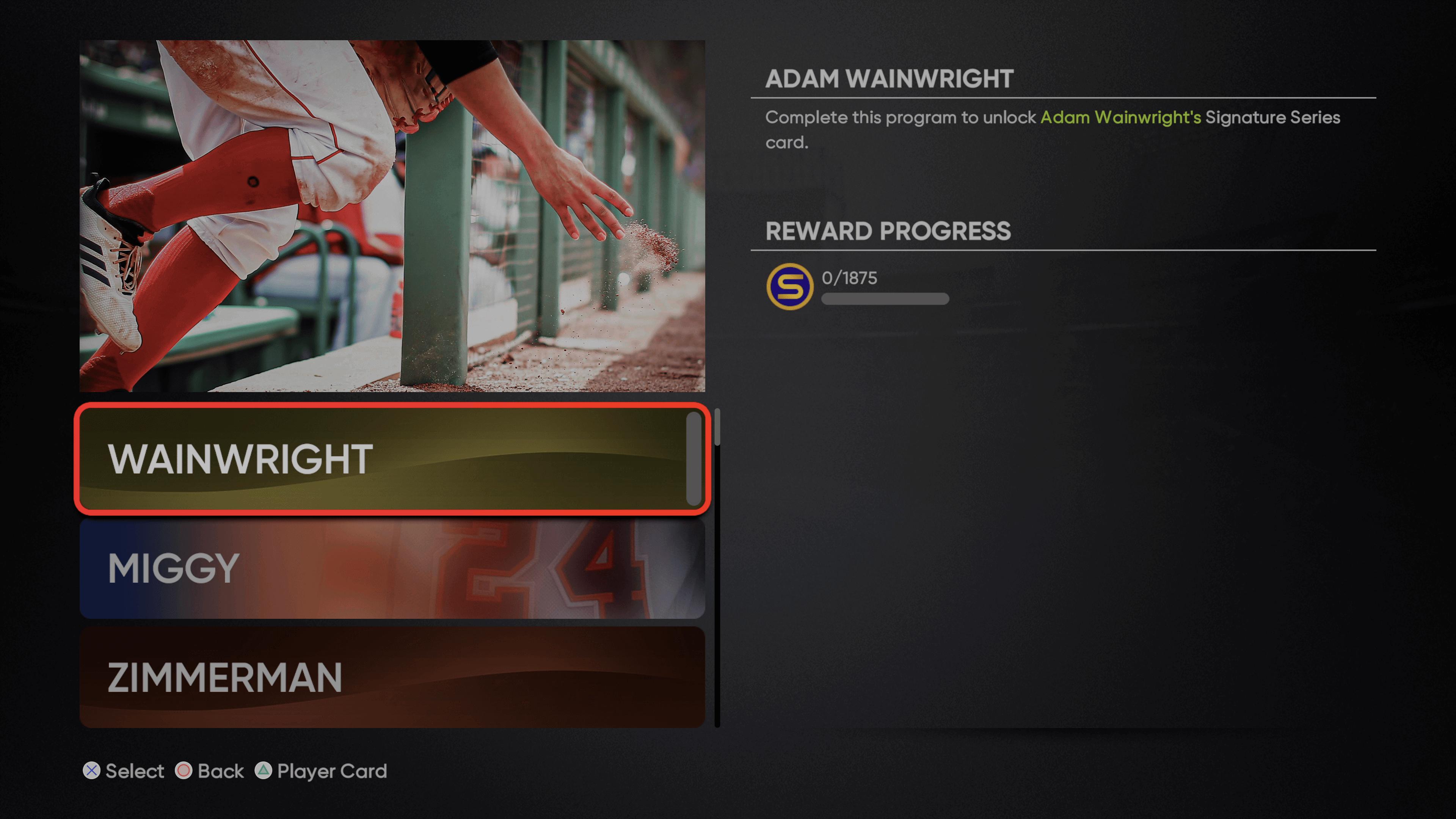 MLB The Show 21 - Signature Series Adam Wainwright_2021-08-31_15-44-24