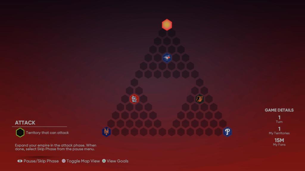 Triangles Conquest Map
