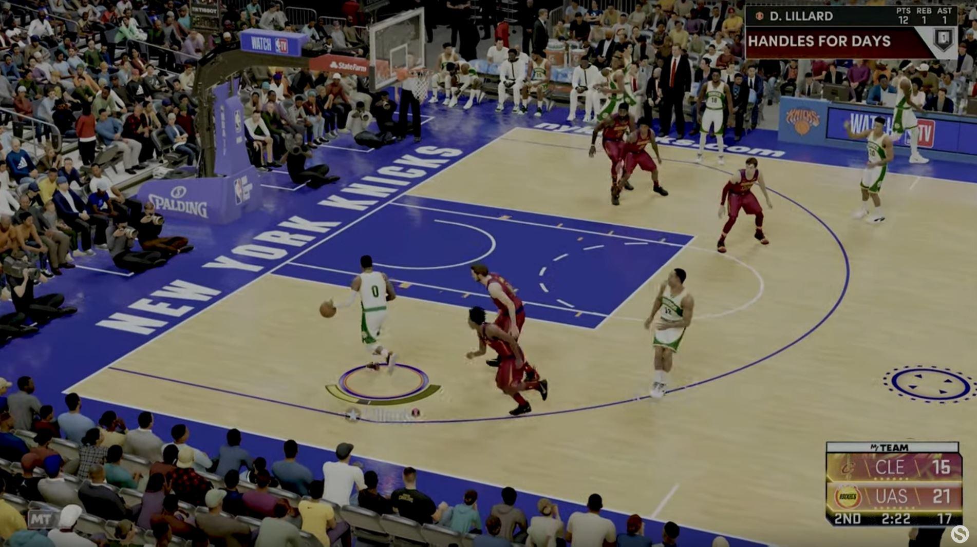 NBA 2K22 PnR 1