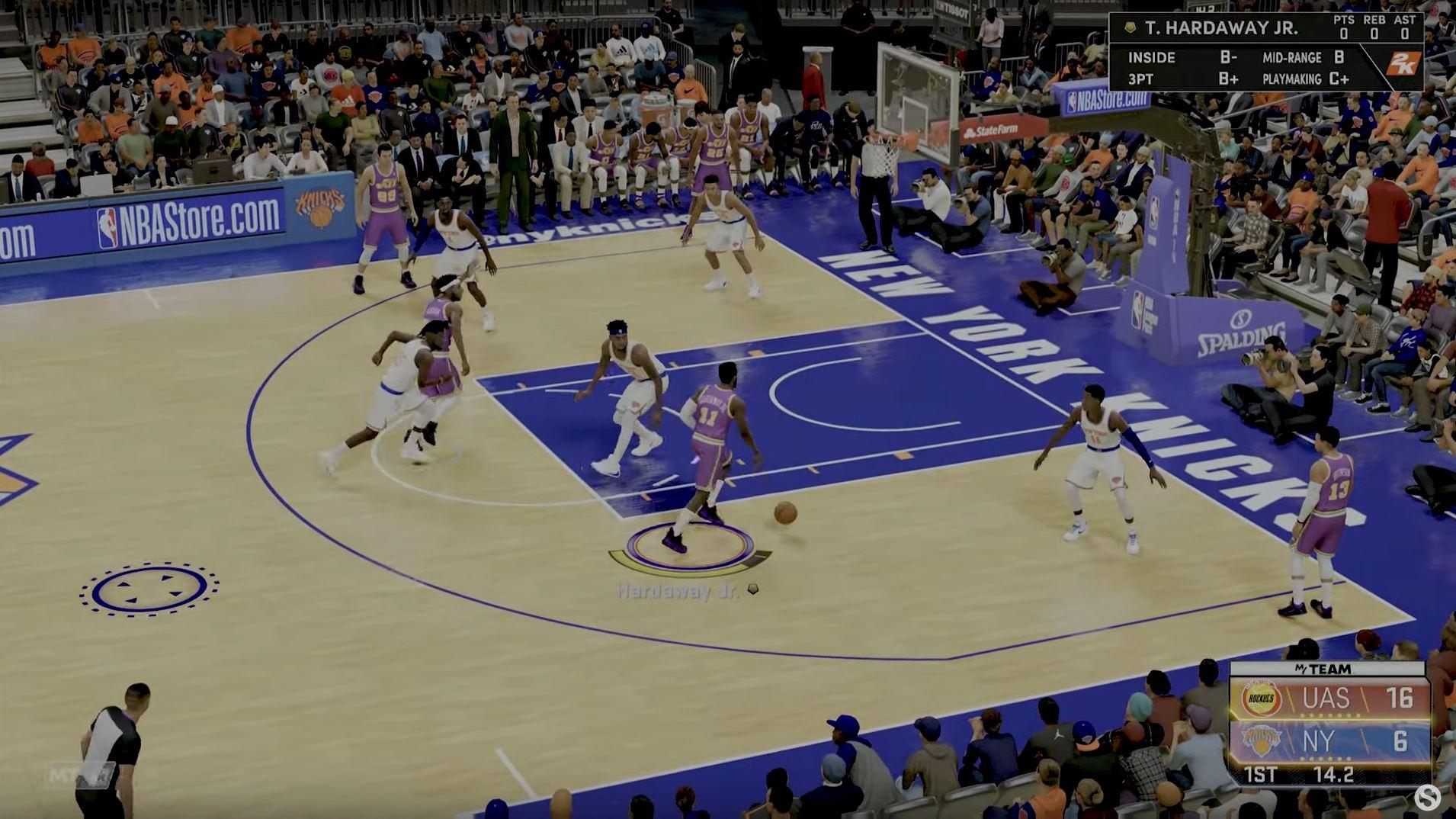 NBA 2K22 PnR 3