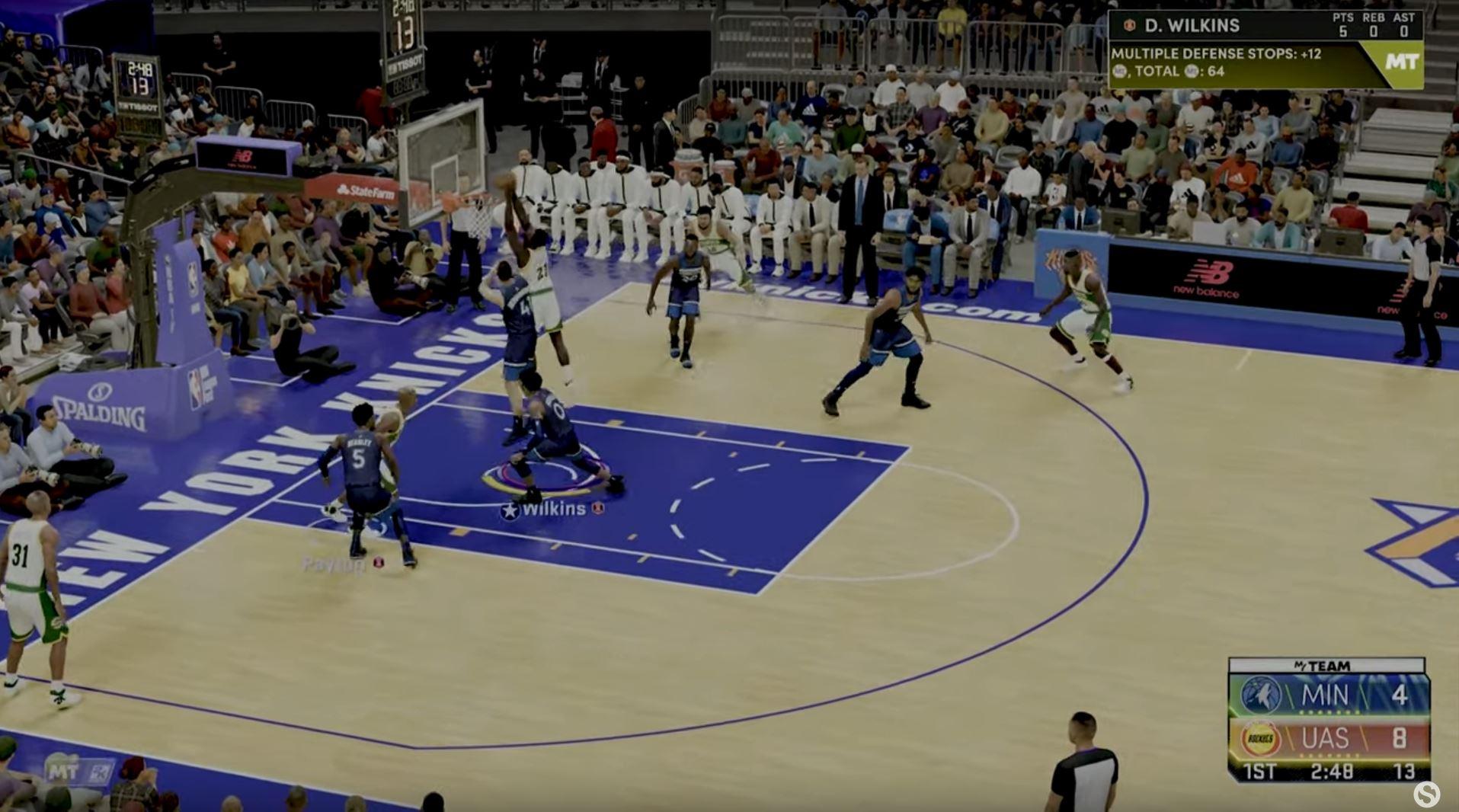 NBA 2K22 PnR 6