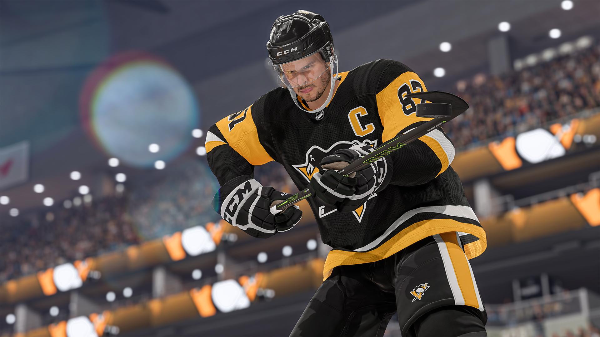 NHL 22 Crosby