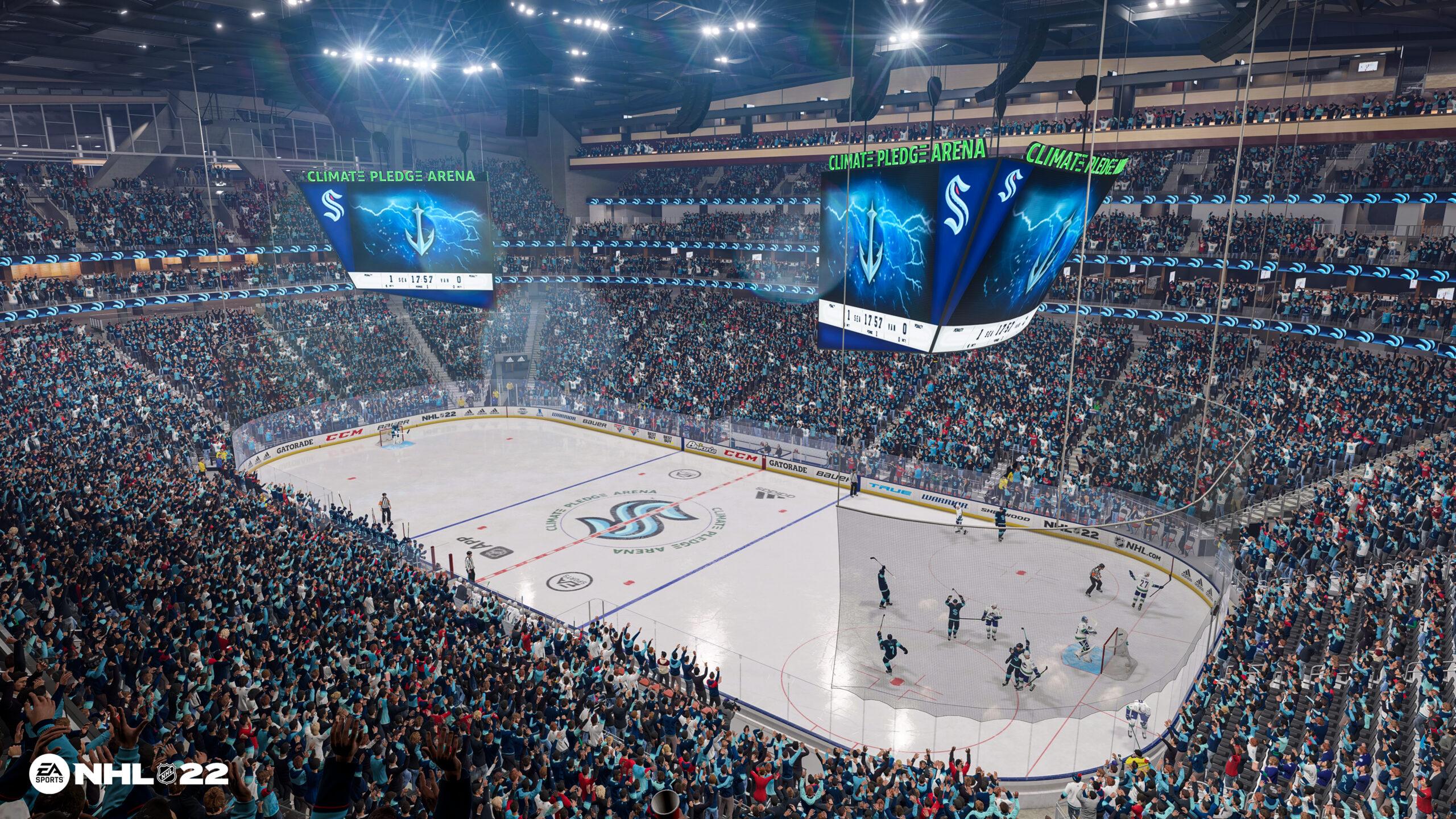 NHL 22 KRAKEN
