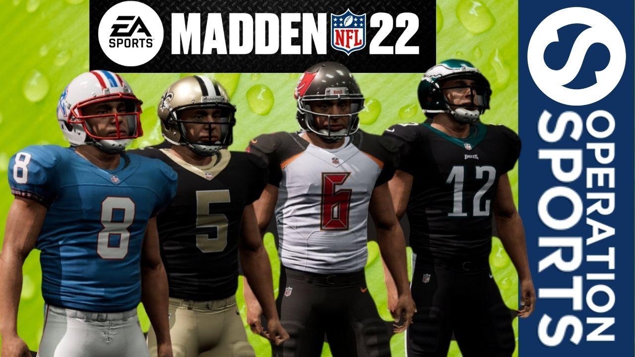 Madden 22 uniforms