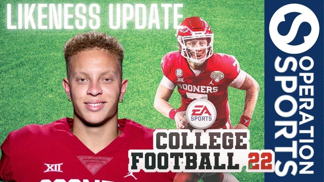 EA Sports College Football Player Likenesses