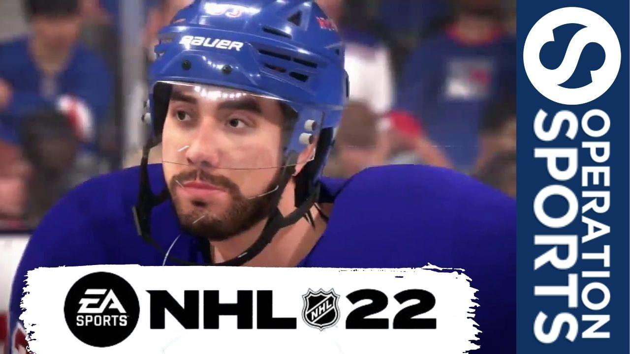 NHL 22 trailer youtube thumbnail