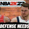 NBA 2K22 Pick And Roll Defense