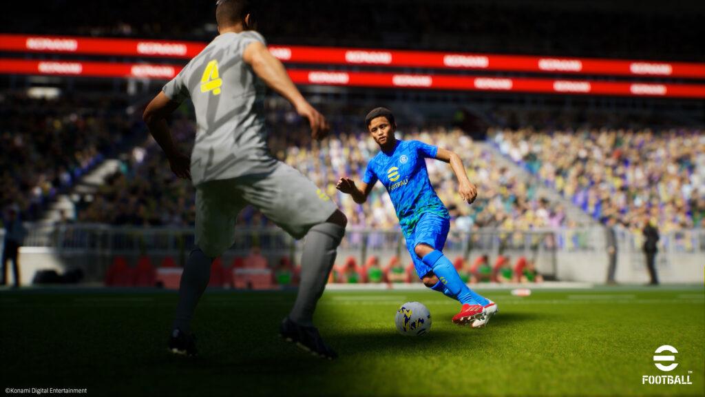 eFootball gameplay