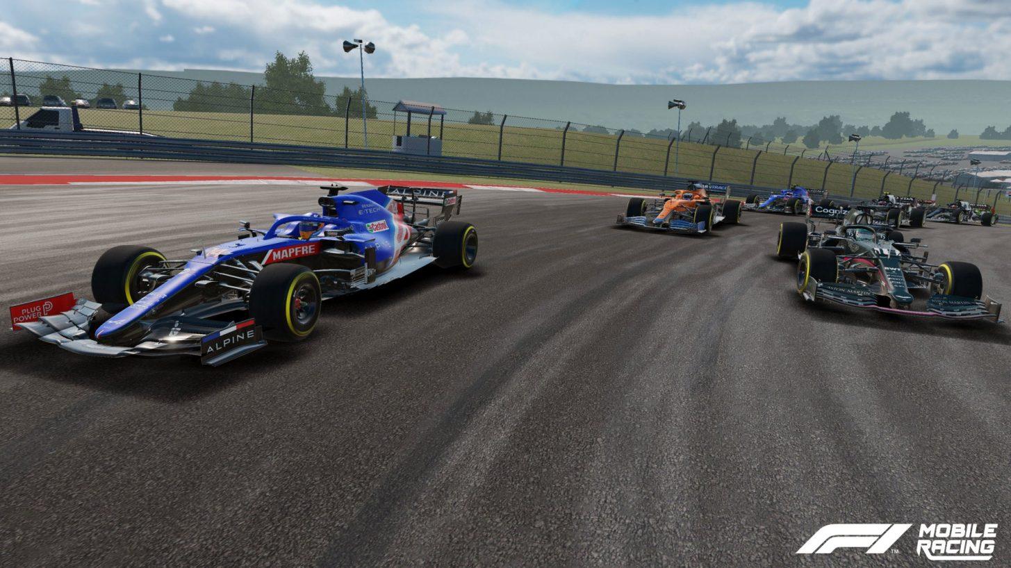 f1 racing mobile