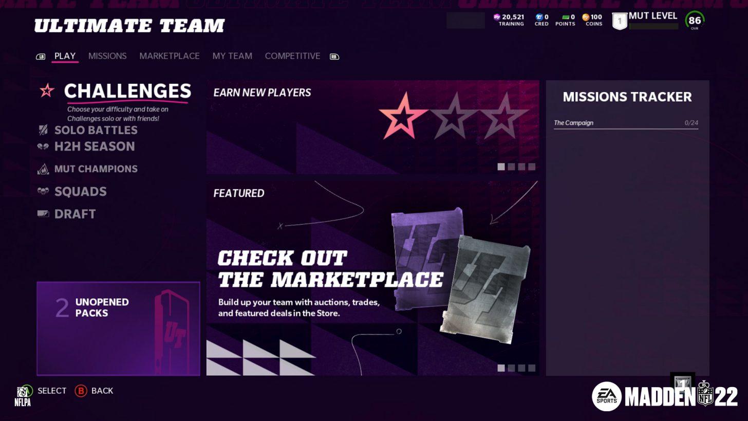madden nfl 22 ultimate team