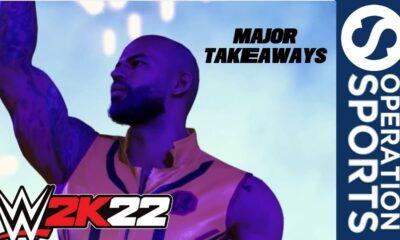 WWE 2K22 release date