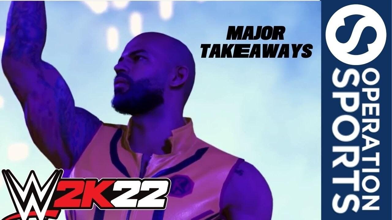 WWE 2K22 youtube thumbnail
