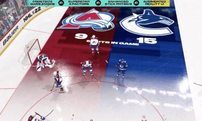 nhl 22 gameplay