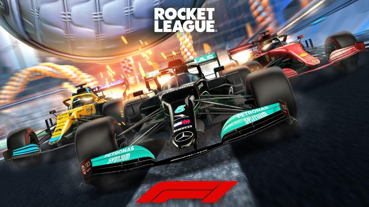 rocket league f1 nascar