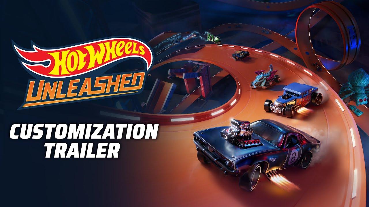 Hot Wheels Unleashed Customization