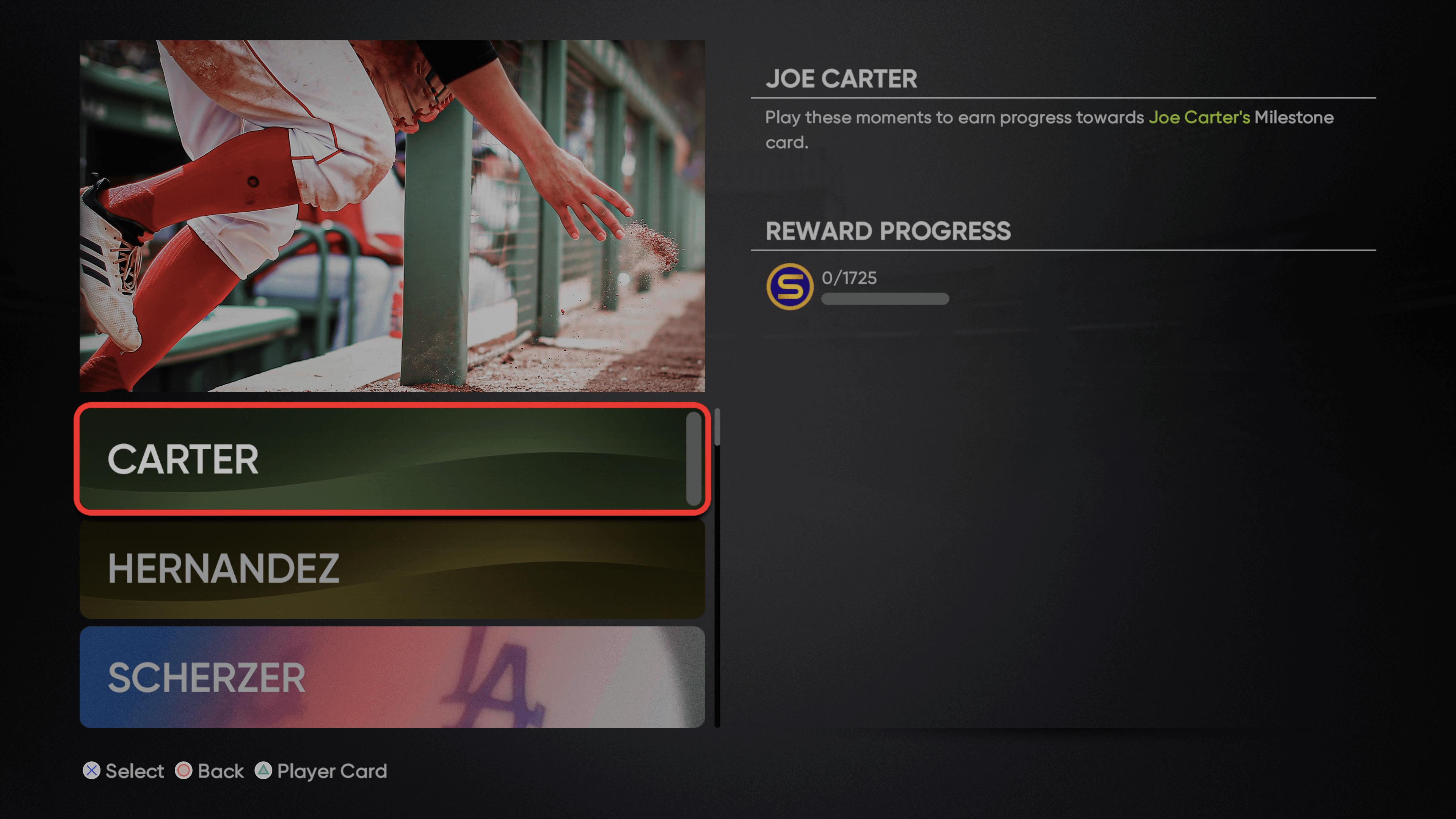 MLB The Show 21 - Milestone Joe Carter_2021-09-24_15-06-01