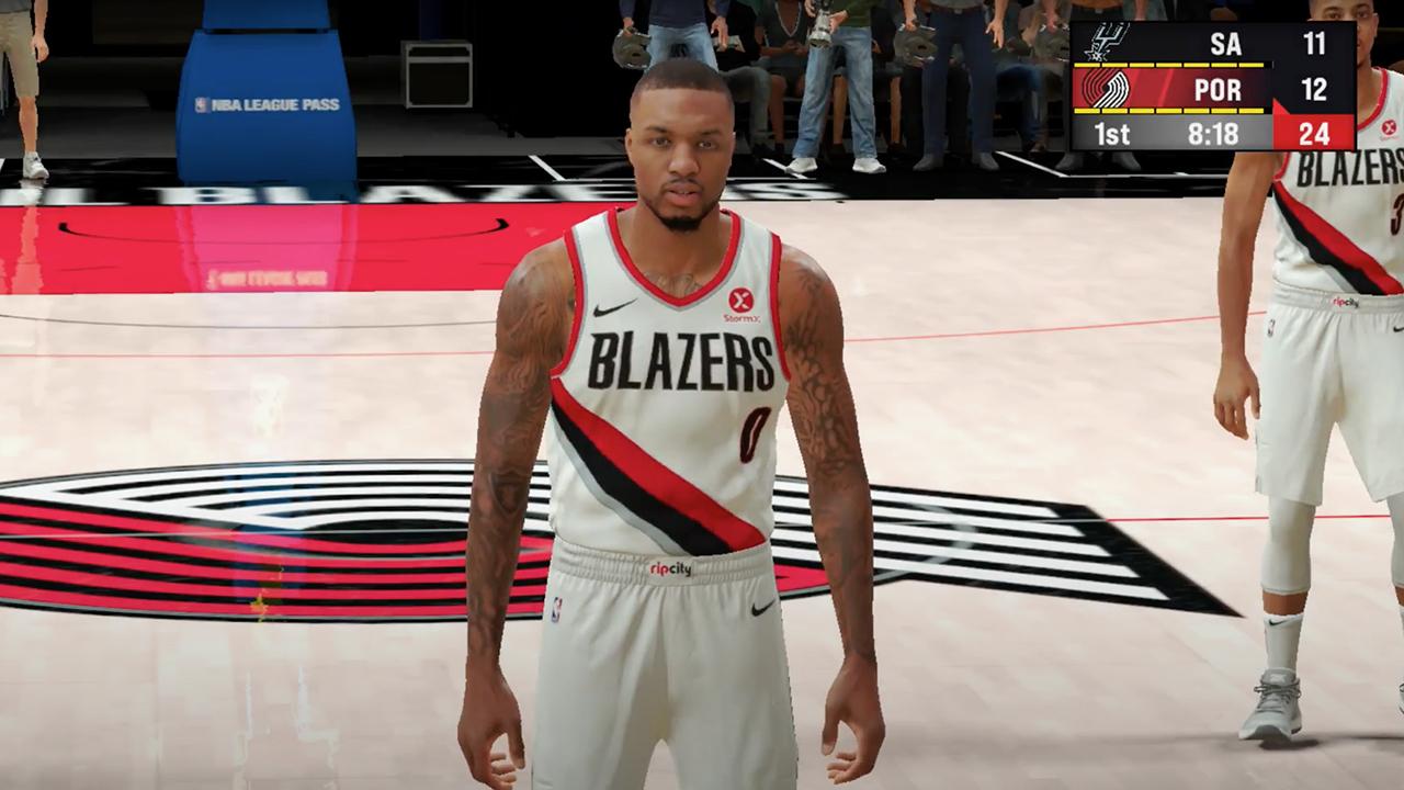 NBA 2K22 Apple Arcade Damian Lillard copy