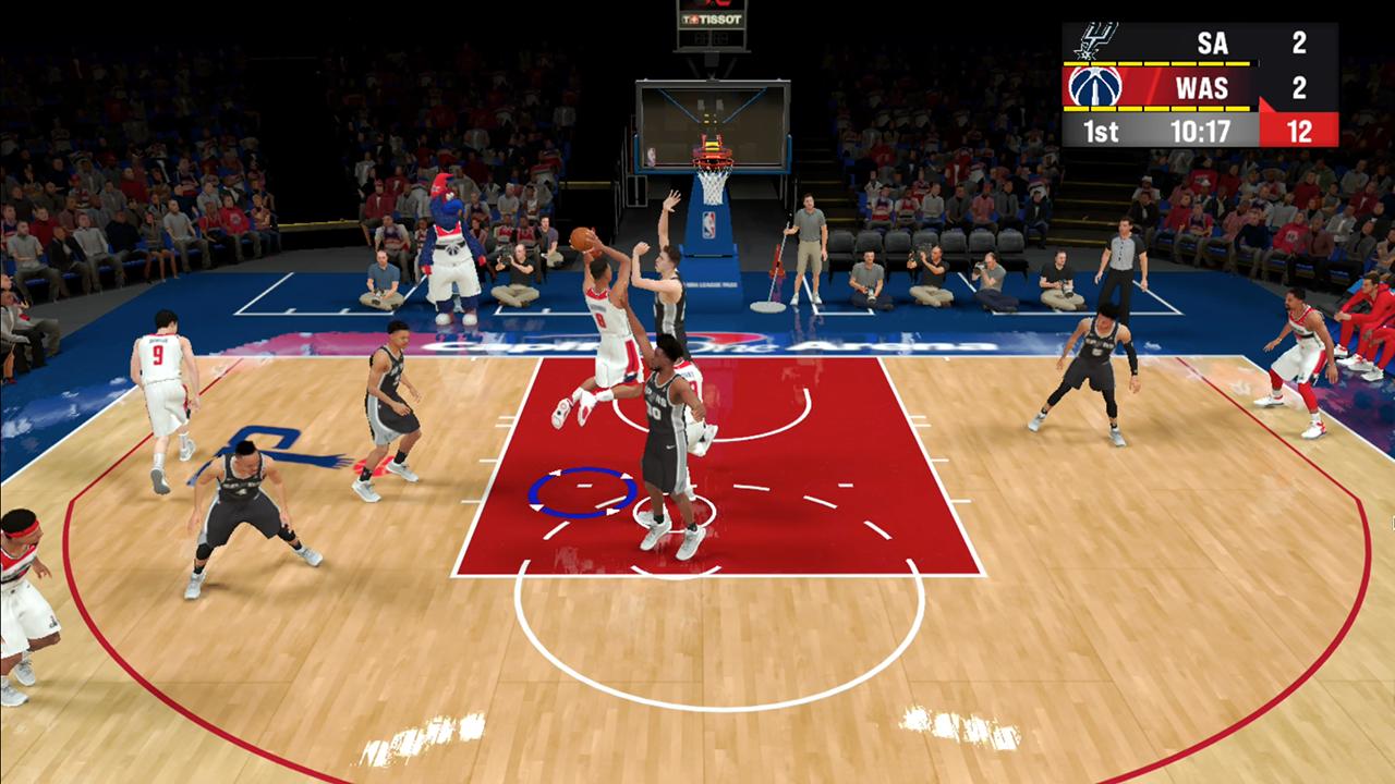 NBA 2K22 Apple Arcade Wizards copy