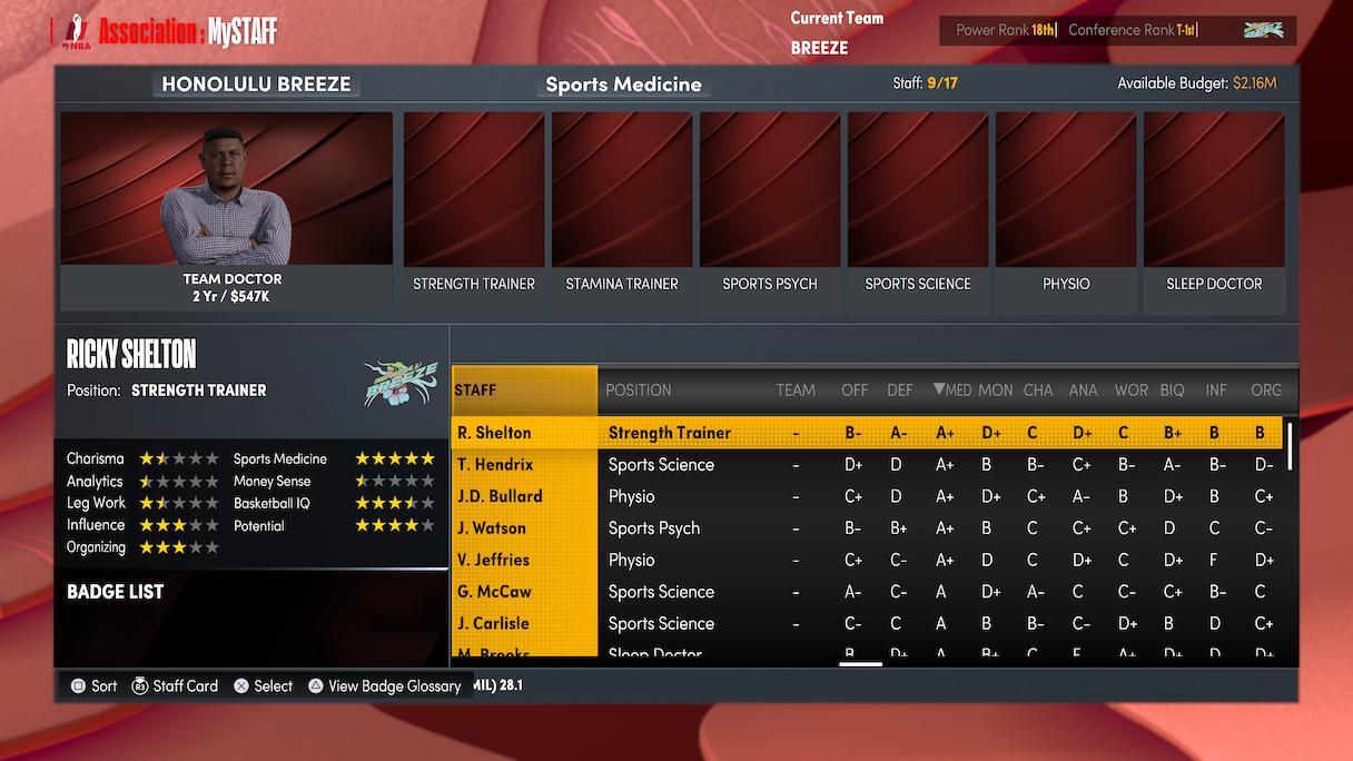 NBA 2K22 MyNBA